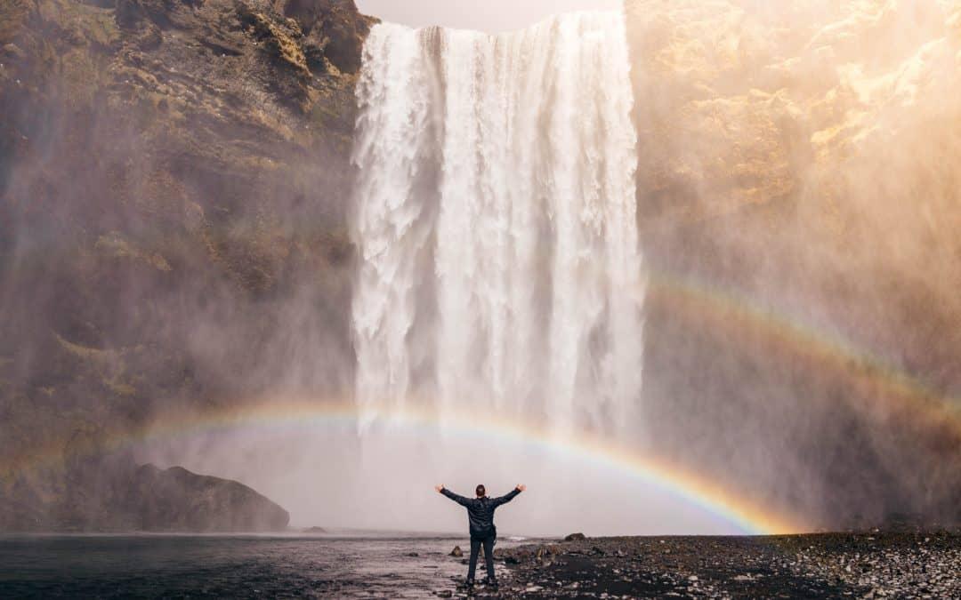Begeleide meditatie Wondere waterval