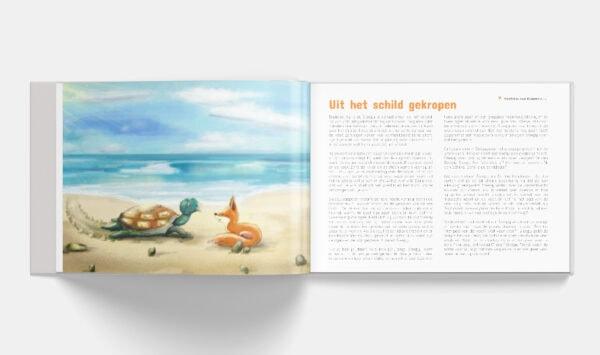 Voorleesboek Meditaties voor Kinderen inlay